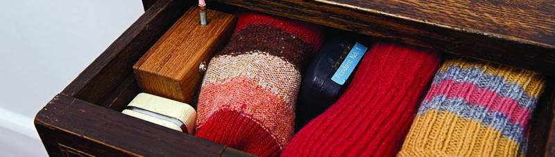 Sock drawer-Ubiquitous box